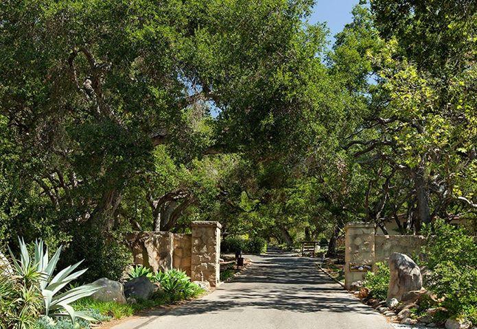 The Entrance to La Casa de Maria Retreat and Conference Center