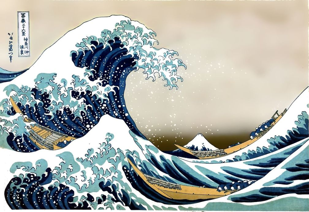 Hokusai, The Great Wave